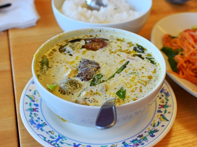 Bangkok Thai Deli: Green curry