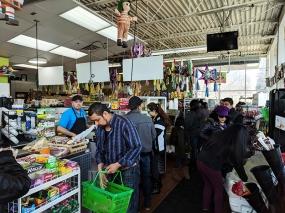 Andale Mercado: Entrance