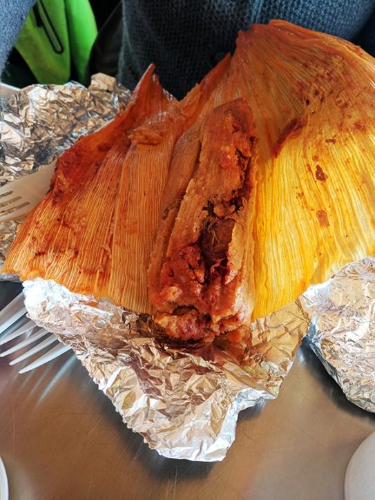Andale: Pork tamales