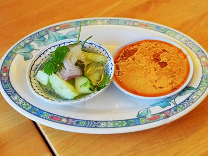 Bangkok Thai Deli: Peanut sauce