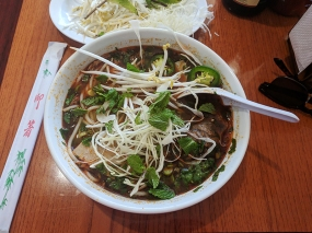 Simplee Pho: Garnished