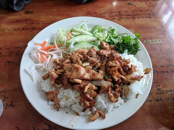 Simplee Pho: Chicken and rice