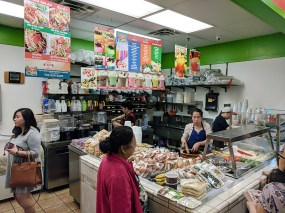 Opposite them is this counter that seems very popular for boba etc. They also have other food.