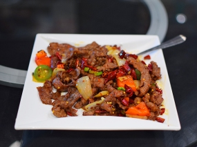 Lao Sze Chuan: Lamb with cumin