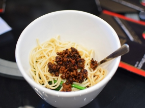 Lao Sze Chuan: Dan dan noodles