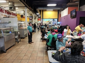 Hmongtown Marketplace: Food court