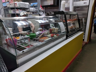 Hmongtown Marketplace: Another food counter