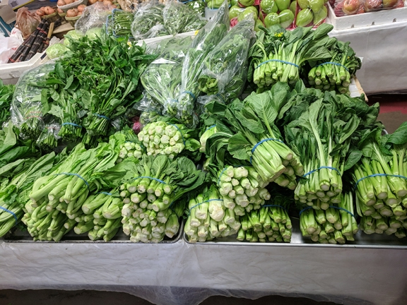 Hmongtown Marketplace: Greens