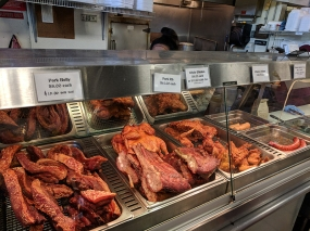 Hmongtown Marketplace: Various meats at Mama's Fusion