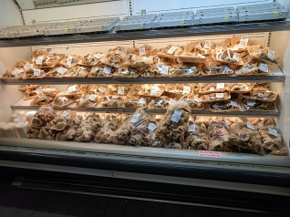 Hmongtown Marketplace: Lot of smoked pork products