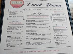 Tilia: Small Plates