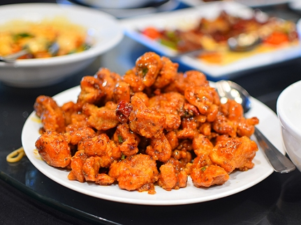 Lao Sze Chuan: Tony's 3 chilli chicken