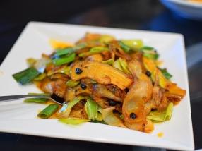Lao Sze Chuan: Twice-cooked pork
