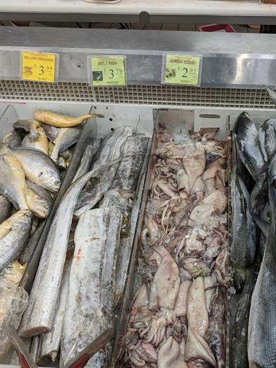 Shuang Hur: Beltfish, squid