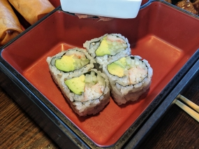 Tokyo Grill: California roll