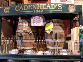 Cadenhead's Edinburgh: Store casks