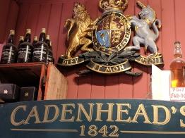 Cadenhead's Edinburgh: Crest