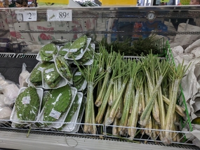 Shuang Hur: Nopales and lemon grass