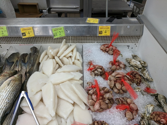 Shuang Hur: Squid, clams