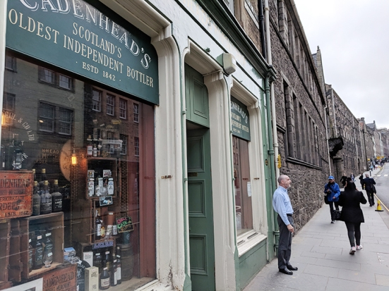 Cadenhead's Edinburgh: Street view