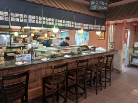 Tokyo Grill: Sushi bar