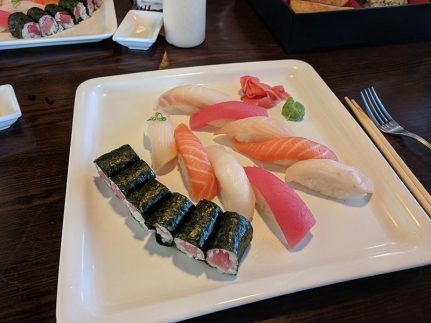 Tokyo Grill: Sushi deluxe