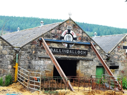 Cragganmore: Ballindalloch shed