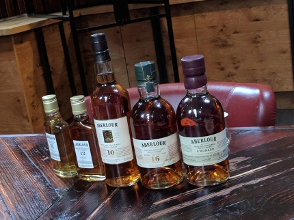 Aberlour: Full flight