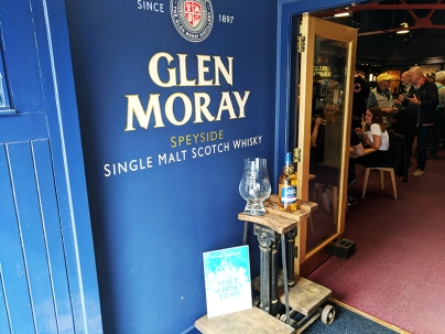 Glen Moray: Entering the visitor centre