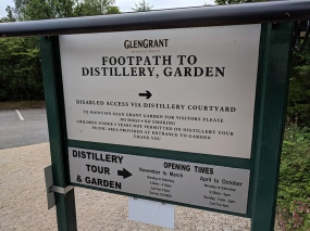 Glen Grant: Footpath