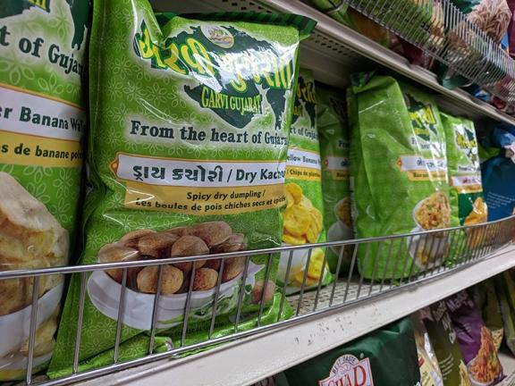 Or perhaps you prefer Gujarati snacks.