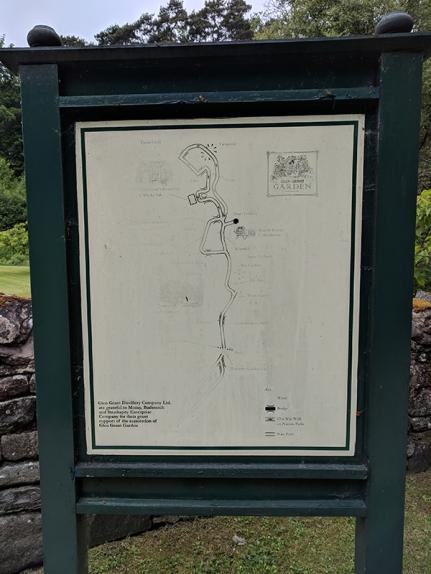 Glen Grant: Garden map