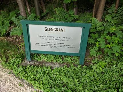 Glen Grant: Garden rules