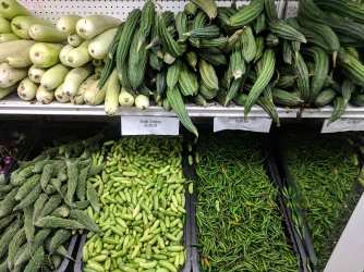 TBS Mart: Gourds and chillies