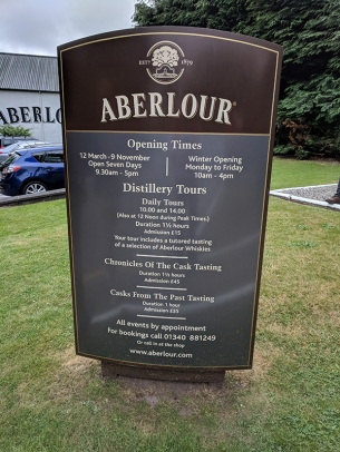 Aberlour: Hours and tours