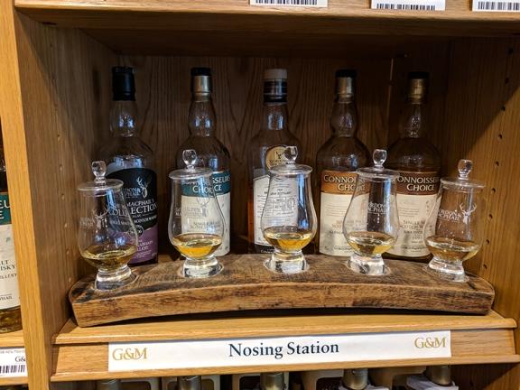 Gordon & MacPhail: Nosing Station