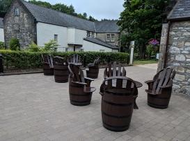 Glen Grant: Outdoor seating