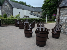 Glen Grant: Outdoor seating