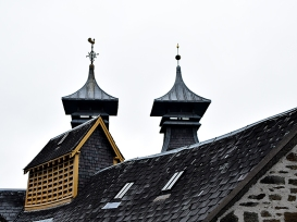 Strathisla: A closer look at the pagoda roofs
