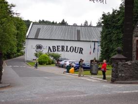 Aberlour: Parking lot
