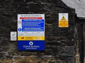 Strathisla: Pedestrian priority