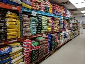 TBS Mart: Many, many types and brands of rice