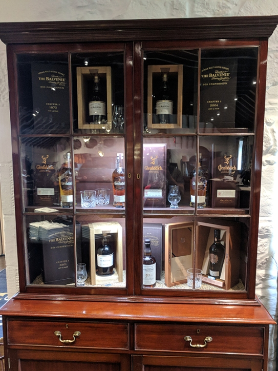 Glenfiddich: Fancy bottles