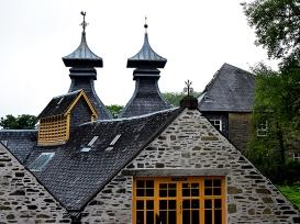 Strathisla: Still house pagodas
