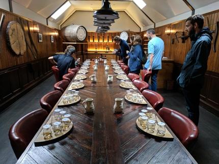 Aberlour: Tasting room
