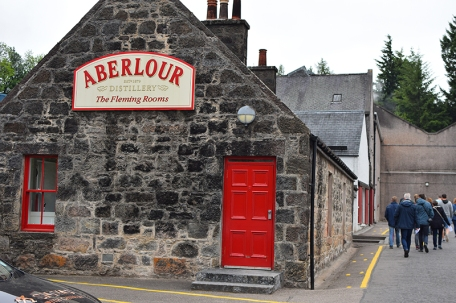 Aberlour: The tour begins