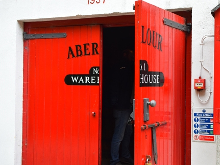 Aberlour: No photos inside