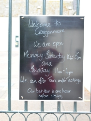 Cragganmore: Welcome