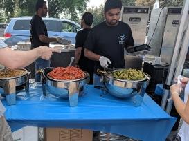 India Fest 2018: Bluefox food