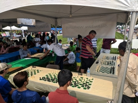 India Fest 2018: Chess and carom